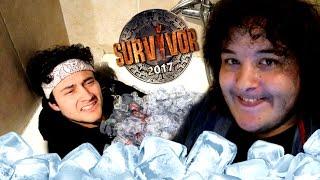 Survivor | Δοκιμασία με πάγο ! (Πόσο κρύο αντέχεις ?) ft. Arva