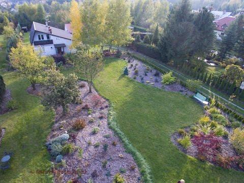Ogród po 3 latach od założenia