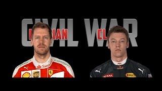 RUSSIAN CLASH: Civil War Official Trailer - Vettel vs. Kvyat