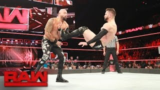 """Finn Bálor goes head-to-head against former """"good brother"""" Karl Anderson: Raw, May 22, 2017"""