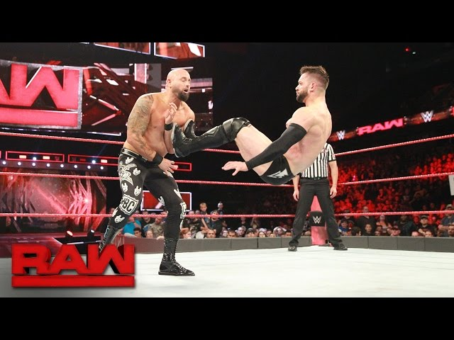 "Finn Bálor goes head-to-head against former ""good brother"" Karl Anderson: Raw, May 22, 2017"