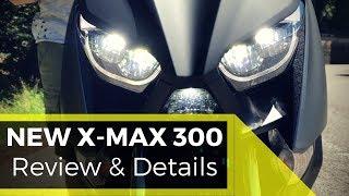 Yamaha X-MAX 300 2017 - Walkaround & Details