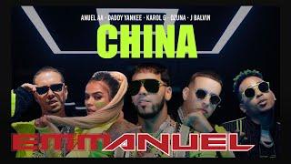 Anuel AA, Daddy Yankee, Karol G, Ozuna & J Balvin - China (Video Oficial)