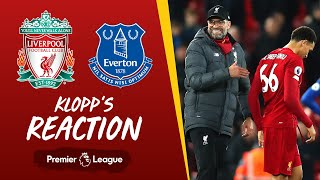 Klopp's Reaction: 'Outstanding, what a game he played' | Liverpool vs Everton