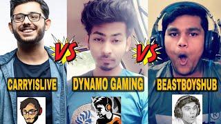 Top 10 Gaming Youtubers in India 2019   Dynamo Gaming, Carryminati, BeastBoyShub