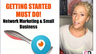 Getting Started in Network Marketing  - SOS  - Most Important Step in Home Business