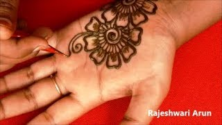 Karwa Chauth Special Full Hand Mehndi Designs 2018 * Simple Latest Mehndi Design * New Henna