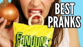 9 BEST PRANKS FOR FRIENDS & FAMILY!!!
