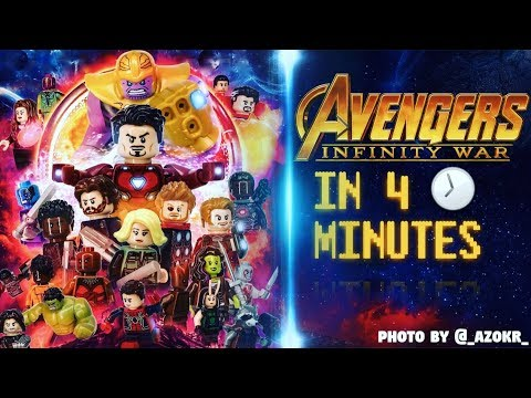 Xxx Mp4 MARVELS Avengers Infinity War In 4 Minutes LEGO STOP MOTION 3gp Sex