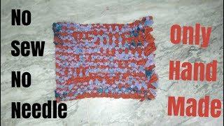How to Make doormat  without stitching, salai, hot glue gun machine  and kiroseya   .different types