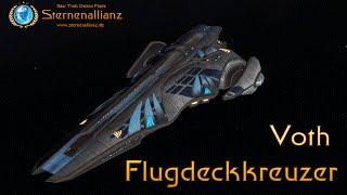Voth Flugdeckkreuzer in Star Trek Online