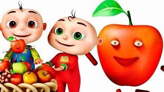 Apple Song | Learning Fruits For Kids | Nursery Rhymes & Baby Songs | Videogyan 3d Rhymes