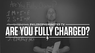 PNTV: Are You Fully Charged? by Tom Rath