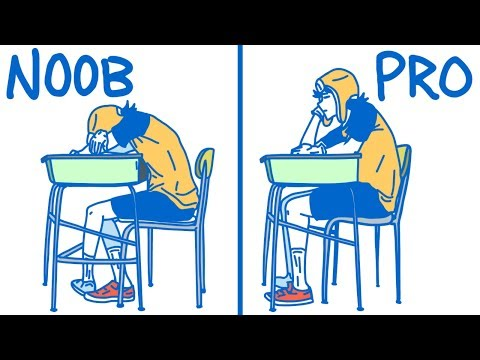 Xxx Mp4 How To Sleep In Class Like A Professional High School College Edition 3gp Sex