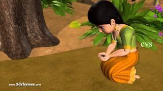 Chitti Chitti Miriyalu - 3D Animation Telugu Nursery Rhymes for children