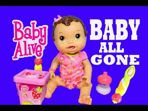 Baby Alive BABY ALL GONE Baby Alive Pooping Peeing Doll Dirty Diapers Talking Doll Toys