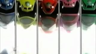 Power Rangers SPD (B-Squad vs A-Squad, laser blaster battle)
