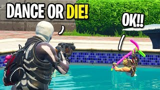 """Playing """"SIMON SAYS"""" On Fortnite with NOOBS For a FRIEND REQUEST"""