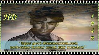 Mein Humse Mile Tum  ⚡ Barsaat ☔ 1949 ☁  The final scene - Türkçe Ve English Altyazılı HD 1080p