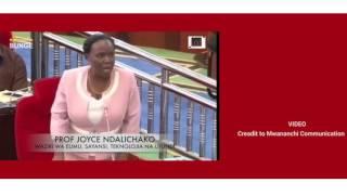 Waziri Ndalichako katolea ufafanuzi kufukuzwa kwa wanafunzi wa UDOM