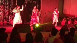 Reshmi churi kona | Dhim tana porimoni song performance | AUST Boishakhi Kabbo 1424