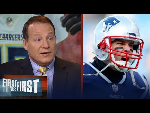 Eric Mangini reacts to Brady Patriots' dominant win over the Chargers NFL FIRST THINGS FIRST