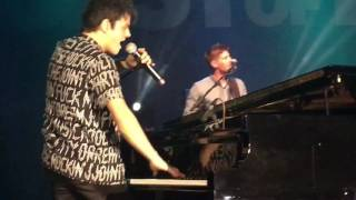 Jamie Cullum - When I get famous (live at Tom Brasil)