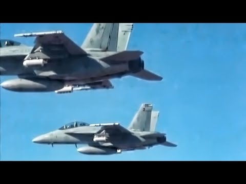 Navy Fighter Jets Release Swarming Perdix Micro-Drones