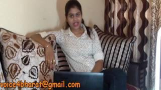 Ek bharat aisa bhi - Journalism girl shows mirror to politicians #voice4bharat