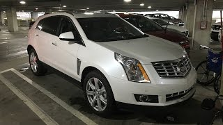 They gave me a 2016 Cadillac SRX