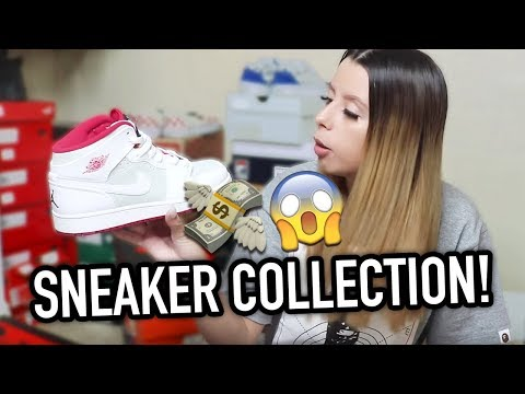Xxx Mp4 17 YEAR OLD GIRL'S 10 000 SNEAKER COLLECTION 3gp Sex