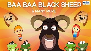 Baba Black Sheep Have You Any Wool & Many More Kids Songs | Popular Nursery Rhymes Collection