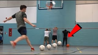 EXTREME DARE BASKETBALL CHALLENGE!!