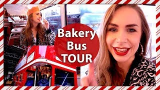 Afternoon Tea Double Decker Bus Tour! London Vlog - Vlogmas Day 13