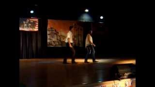 BELIEVE & COWGIRLS à ARAMON Chez Closed Valley Country.wmv
