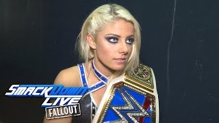 Alexa Bliss is outraged that Naomi is headed to WrestleMania: SmackDown LIVE Fallout, March 28, 2017