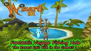 Wizard101 What Fish Lurk on Voyager Isle - Rarest Epic Fish Ever?