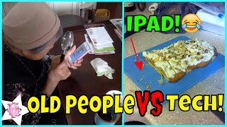 Old People Vs Technology Fail!