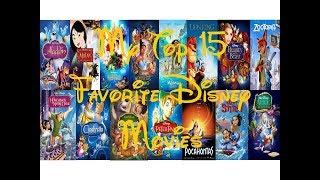 My Top 15 Favorite Disney Movies