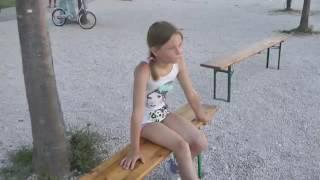Мои каникулы в Хорватии.Naturist kemp 2014