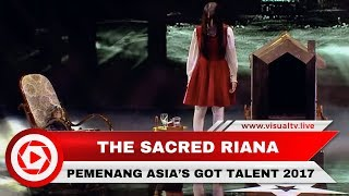 Hebat! Pesulap Asal Indonesia, The Sacred Riana Menang Ajang Asia's Got Talent 2017