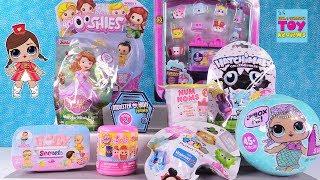 Disney Baby Secrets Princess Ooshies Num Noms LOL Surprise Toy Review   PSToyReviews