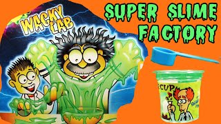 ★Super Slime Factory★ Wacky Lab Edu Science Goo Factory Opening & Review - KTR Videos