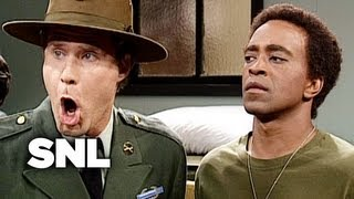 The Sensitive Drill Sergeant - SNL