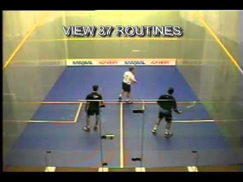 Nicks in Squash demo interactive squash