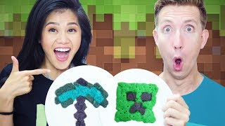 PANCAKE ART CHALLENGE!!! Minecraft vs Chad Wild Clay