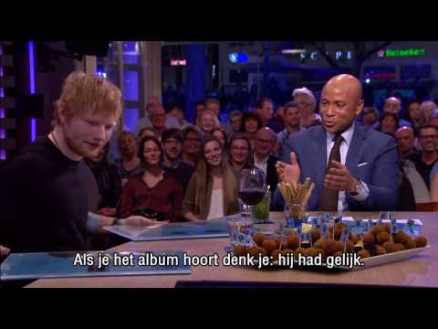 Ed Sheeran I wrote Shape Of You for Rihanna Interview RTL Late Night