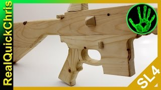 how to build a wooden ar15