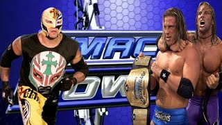 WWE Handicap Match-Rey Mysterio vs Curt Hawkins e Zack Ryder 2008
