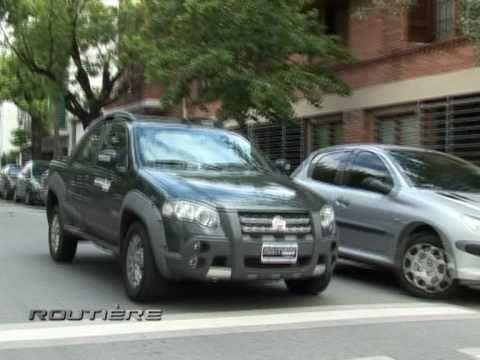 Test Fiat Strada Doble Cabina 1.6 e torq. Routiere